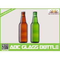Buy Fancy Summer Promotion With Screw Top Beer Glass Bottles,Amber and Green beer glass bottle at wholesale prices