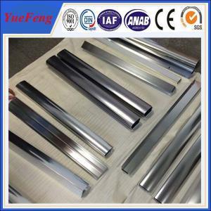 Quality Hot! kitchen closet aluminium angle price, mirrow polishing aluminium extrusion for sale