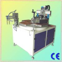 China CE Approved Chinese Single Color 4 Stations HS-350P Precise Flat Surface Screen Printer With Vacuum on sale