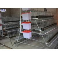 Buy cheap 4 Tiers Chicken Layer Cage , Poultry Farming Battery Cage System For Layers from wholesalers