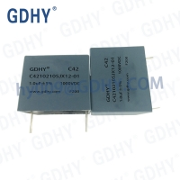 Quality 1.0uf 1000VDC High Voltage Resonant Capacitor Electronic Components for sale