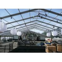 Buy A Frame Transparent Clear Span Marquee For Parties With Waterproof Cover at wholesale prices
