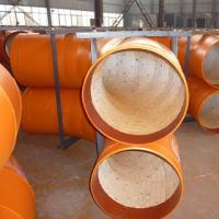 Buy cheap Ceramic Tile Lined Steel Pipes from wholesalers