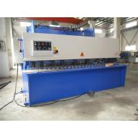Quality CNC Hydraulic Swing / Guillotine Beam Metal Shearing Machine For Construction Field for sale