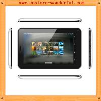 Quality A20 dual core 7inch narrow side 2G tablet phone with GSM 850/900/1800/1900/blutooth/wify for sale