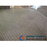 Quality 105-300 Model Stainless Steel Knittted Wire Mesh With Good Penetrability for sale