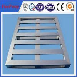 Quality Mill Finished Industrial Aluminium Profile Aluminum Pallet 6063 aluminum alloy for sale