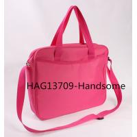 Quality 420D polyester briefcase red color document bags-HAG13709 for sale