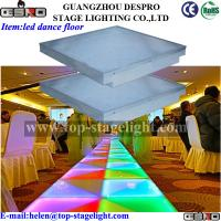 Quality led dance floor for party,wedding,disco equipment for sale