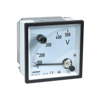 Quality Combined Maximum Demand Voltmeter , Analogue Panel Meters / 3 Phase 3 Wire Voltag Meter for sale