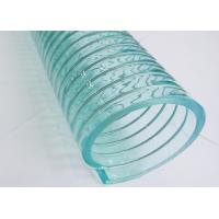China Clear Flex Plastic PVC Steel Wire Hose 1 / 4 inch - 10 Inch For Suction / Discharge on sale