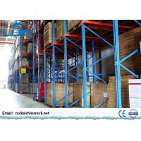 China High Density Steel Drive In Pallet Rack Shelving For Storage Corrosion Protection on sale