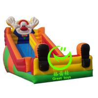 Quality 2016 hot sell  inflatable clown slide with 24months warranty GT-SAR-1615 for sale