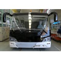 Buy 51 Passenger 4 Stroke Diesel Engine Airport Limousine Bus 4 doors 2.7m width at wholesale prices