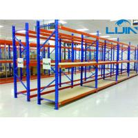 China Convenient Medium Duty ShelvingPlywood Board Steel Frame 100-150kg / Layer on sale