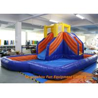 Buy cheap Home Jumping Kids Wet Giant Commercial Inflatable Slide / Water Slip And Slide from wholesalers