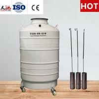 China TIANCHI Cattle Semen Tank 60L Liquid Nitrogen Cylinder on sale