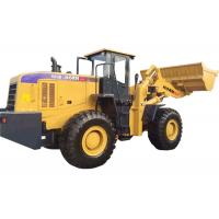 Buy Yellow Articulated Wheel Loader Heavy Construction Machinery 6000kg Rated Load at wholesale prices