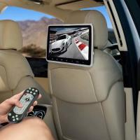 Quality 16g 10 Inch Car Headrest Monitor With IR FM Transmitter 1920*1080 Resolution for sale