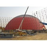 China Steel Lattice Shell Steel Space Frame Structures Prefab Storage Buildings Anti Seismic on sale