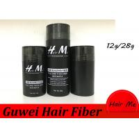 Quality 15 Colors 12g/28g Instant Hair Building Fiber Thickening The Hair Black for sale