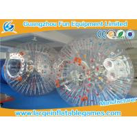 Quality Bumper Soccer PVC Inflatable Zorb Ball For Ramp Zorbing / Grass , Hill Or Land for sale