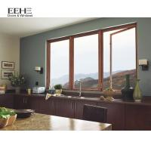 Quality PVDF Aluminium Bay Windows / Australia Standard Aluminium French Windows for sale