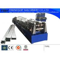 Buy cheap GI 1 MM Thickness Box Beam Roll Forming Machinery For Making The Shelf Beam from wholesalers