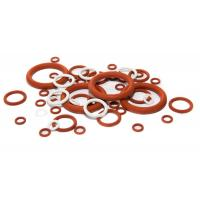 Quality High Temperature Silicone O Rings Acid And Alkali Resistant , Lead Free Standard for sale