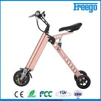 Quality P Moped Three Wheel Electric Scooter With Seat 500W Hub Motor withkey for sale