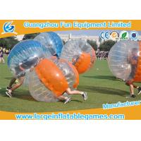 Soccer Game Bumper Wearable Inflatable Ball Environment Friendly Bubble Footy For Adults