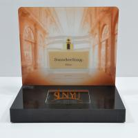 Buy cheap Laser Cutting Craft Cosmetic Display Rack Respectively Perfume Show from wholesalers