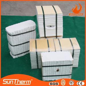 Quality Thermal insulation ceramic fiber module for sale