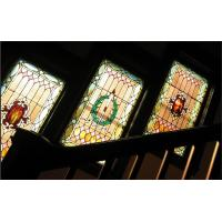 """Quality 1"""" thickness stained window glass for sale"""