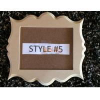 Buy Home Decor MDF Display Stands Picture Frames Nursery Wedding Photo at wholesale prices