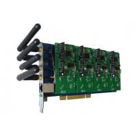 GSM400P Asterisk Card with 4 GSM Modules for Mobile IP PBX