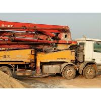 Quality SANY Brand Used Concrete Pump Truck Steering Wheel Type 12.00R20 Tire for sale