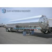 High Capacity DOT Ellipse Two Axle Oil Tank Trailer 35000L Without Painting