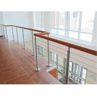 Quality Building railing design 6 mm inox cable infill for wire cable balustrade for sale