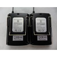 Buy Black Color Audio Guide Device Transmitter / Receiver For Simultaneous Interpretation at wholesale prices