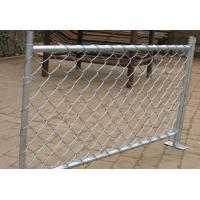 Quality ASTM F668 PVC coated chain link fence with 6 ga wire extruded and bonded for sale