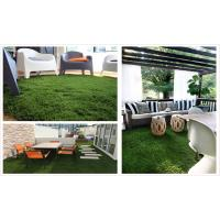 Quality U Shape Y7 Landscaping Artificial Grass Synthetic 40MM 4 Tone Safe And Durable for sale