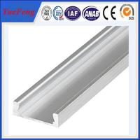 Quality extruded aluminum profiles fatory supply hot sale led aluminum extrusion for sale