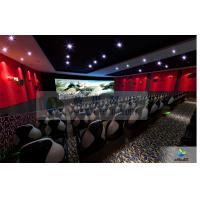 Buy Large High Definition 4D Movie Theater Motion Chair With Arc Screen at wholesale prices