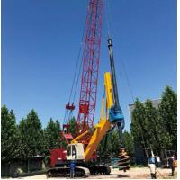 China 199 Kw Hydraulic Pile Machine SD2200 / Drilling Rig Equipment Energy Saving for sale