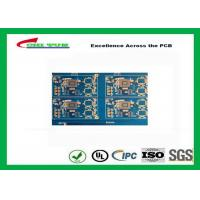Buy Blue Solder Mask 14 Layer GPS Circuit Board FR4 TG180 10 BGA PCB at wholesale prices