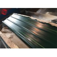 China Astm A653 Corrugated Roof Sheets With Zinc Coating 40 - 200g / M2 Roof on sale