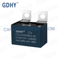 Quality GDHY 0.47UF 1200VDC IGBT Snubber Capacitor for sale