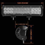 Quality Aluminum Material Auto LED Mini LED Light Bars 3W/PCS Cree LEDS Work Light Bar IP 68 for sale