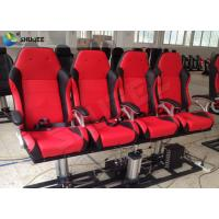 Buy Red / Black 5D Cinema System Customized Dynamic Theater System For Center Park at wholesale prices
